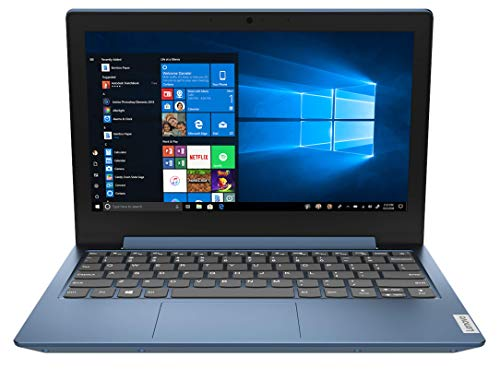 Lenovo IdeaPad 1 - Ordenador Portátil 11.6' HD (Intel Celeron N4020, 4GB RAM, 64GB eMMC, Intel UHD Graphics 600, Windows 10 Home en Modo S) Azul - Teclado QWERTY Español