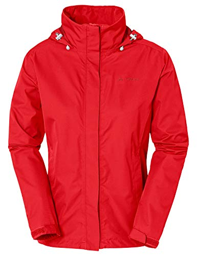 VAUDE Damen Jacke Escape Light, Regene, magma, 38, 038952080380