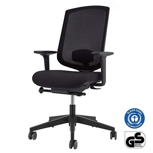 boho office® Basic Bürostuhl - ergonomisch zertifizierter, Bürostuhl, Made in Germany mit 5 Jahren Garantie und Zufriedenheitsgarantie