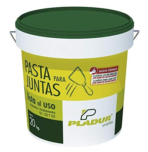 CUBO DE 20 KG PASTA PARA JUNTAS LISTA AL USO PLADUR®