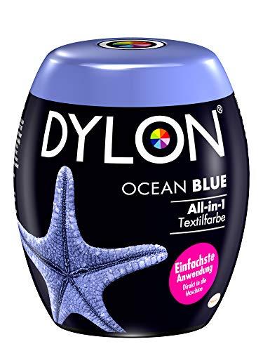 DYLON Ocean Blue All-in-1 Textilfarbe (für frische und intensive Farben) 1 x 350 g