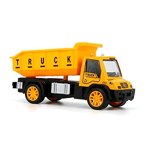 H87yC4ra Mini Vehículo De Ingeniería De Juguete, Excavadora, Licuadora, Volquete, Tractor, Camión, Modelo De Coche, Juguetes, Vehículo De Ingeniería, Juguetes Para Niños C