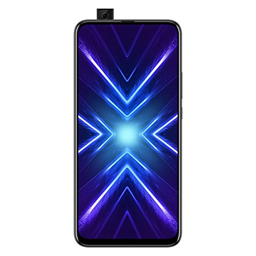 Honor 9X (Midnight Black, 4+128GB Storage) -Pop up Front Camera & 48MP Triple Rear Camera