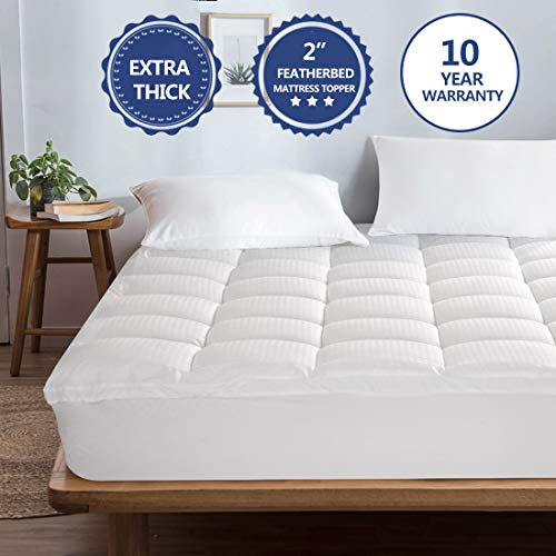 Starcast Mattress Topper Extra Thick (King) -Cotton Pillow...