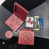 Einuz Carcasa de repuesto para GBA SP, Gameboy Advance SP y tornillos...