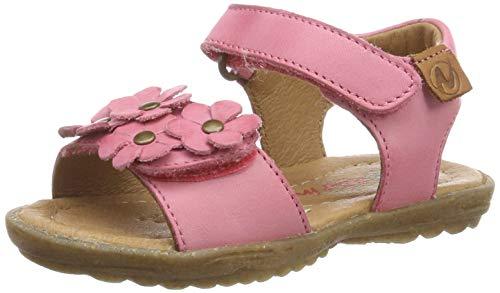 Naturino Mädchen Spring Peeptoe Sandalen, Pink (Corallo 0l05), 27 EU