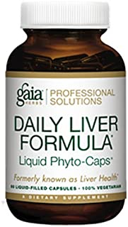 Gaia Herbs (Professional Solutions) Daily Liver Formula 60 lvcaps