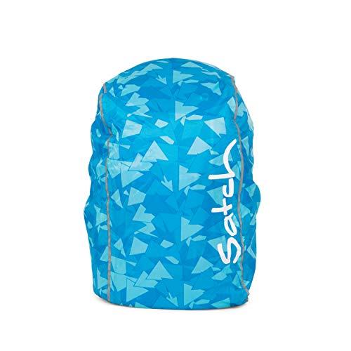 Satch Regencape - Regenhülle - Blue - Blau