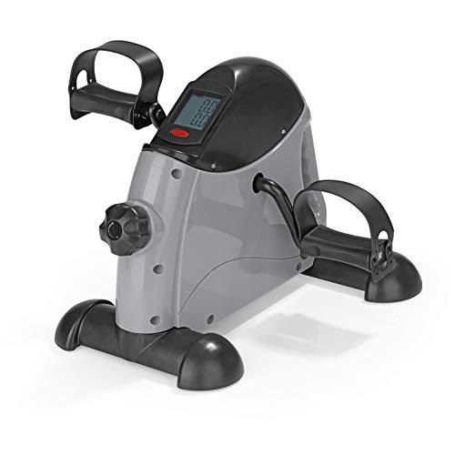 VITALmaxx Mini-Trainer | mit Trainingscomputer | zum Mitnehmen | Widerstandsregulierung [grau/schwarz]