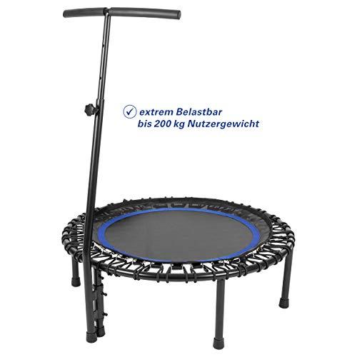 Sport-Tec Fitness Trampolin mit Griff, ø 106 cm, bis 200 kg
