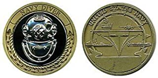 Military Productions US Navy Diver Challenge Coin
