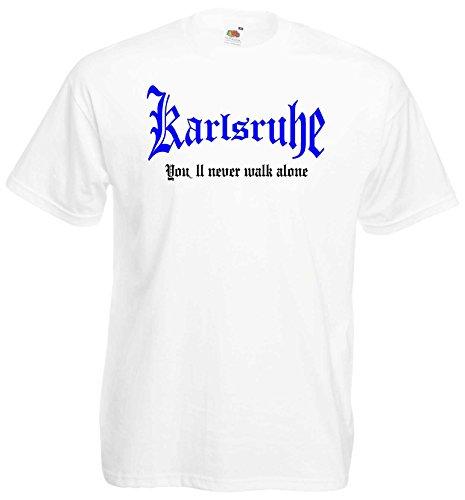 Karlsruhe Herren T-Shirt You`ll Never Walk Alone