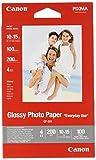 Canon GP-501 - Papel fotográfico con brillo (10 x 15 cm, 100 hojas, uso diario)