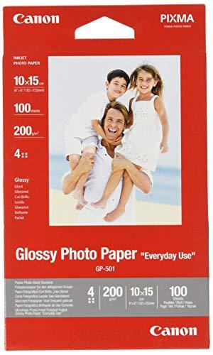 Canon BJ MEDIA GP-501 10X15 Papier 100 Blatt glänzend