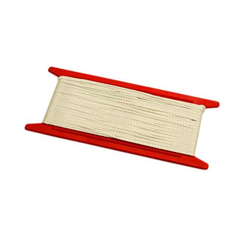 GARDINIA Jalousie-Schnur, 10 Meter, Ø 1,3 mm, 100% Polyester, Weiß