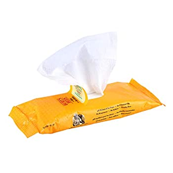 Burt s Bees for Dogs Multipurpose Grooming Wipes   Puppy and Dog Wipes for All Purpose Cleaning & Grooming   Cruelty Free Sulfate & Paraben Free pH Balanced for Dogs - 50 Ct Pet Wipes