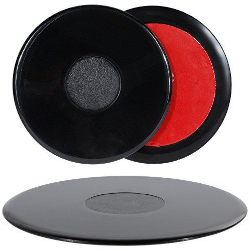 Rovtop 3 pcs Selbstklebende Platten für das Armaturenbrett 1 * 105mm und 2 * 75mm Pack (Adhevise disks)