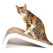 Design pensé : basé sur les préférences de votre chat, la surface inclinée permet de gratter et de s'étirer, et dispose également d'un trou pour explorer et jouer. Les chats l'adorent! Un grattoir, une aire de jeu, et bien plus encore. Comprend des ...