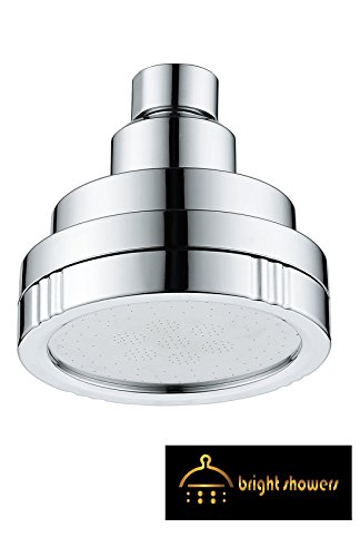"Bright Showers – Fixed Showerhead – 3"" Diameter –..."
