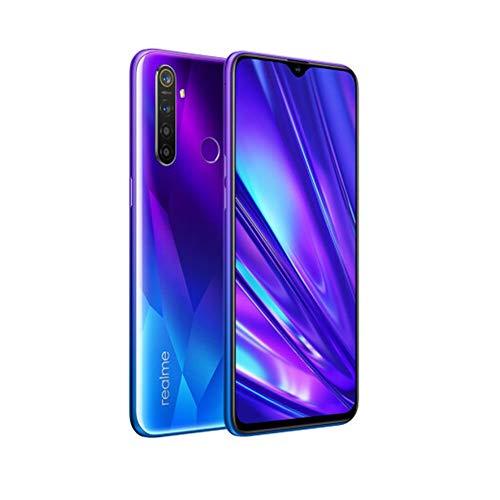 realme 5 Pro Smartphone Móvil, 6.3 '' 8 GB RAM 128 GB ROM Snapdragon 712AIE Octa Core 48MP AI Quad Camera 4035mAh, Dual Sim, Versión Europea (Azul)