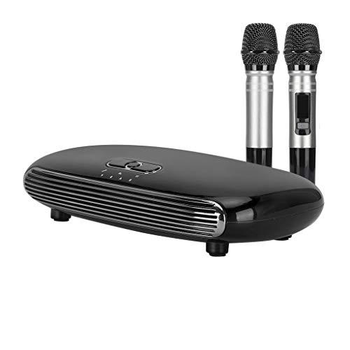 GZQDX Handheld Wireless Karaoke Micrófono Karaoke Jugadores de Karaoke Cantando Karaoke Máquina Caja Mini Mini Familia Sistema Mezclador