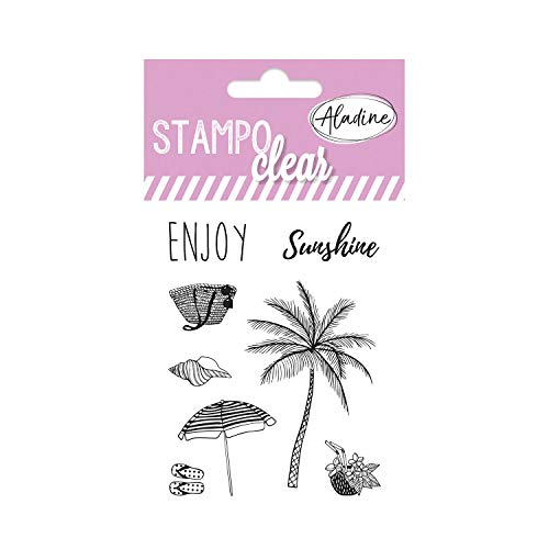 Aladine 04393 Stampo Clear Individuel Summer