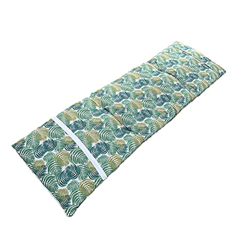 Bravo Home - Cojín de tumbona para tumbona de jadín. medidas: 180 x 55 x 8 cm, para exterior e interior, terraza, jardín, viaje, vacaciones