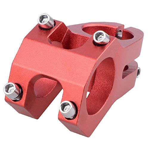 TRIWONDER Fahrrad Vorbau 31.8 32mm 40mm 90mm, Lenker Vorbau Fahrradlenker Vorbau für Fahrrad BMX MTB Rennrad (31.8 x 40mm - Ⅰ - Rot)