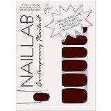 NAILLAB Nagelfolie - Selbstklebende Nagelfolien als einfache & zeitsparende Alternative für Nagellack - Langanhaltende nail wraps in vielen verschiedenen Farben - Nagelaufkleber   nail sticker   folie