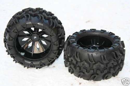 XT-Racing Monster Truck Räder Reifen 1:5 1:6 für XTC FG Carson REELY Carbon Breaker GRAUPNER MT6
