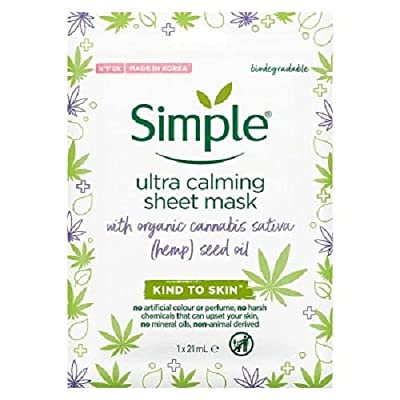 Simple Ultra Calming Sheet Mask by Unilever
