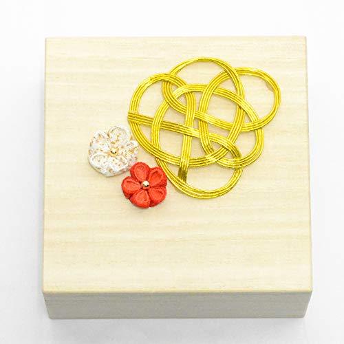 Lulu'sルルズ鶴のリングピロー赤ウェディングブライダル結婚指輪サイズ:縦12cm×横12cm×高さ7cm鶴・赤Lulu's-1283