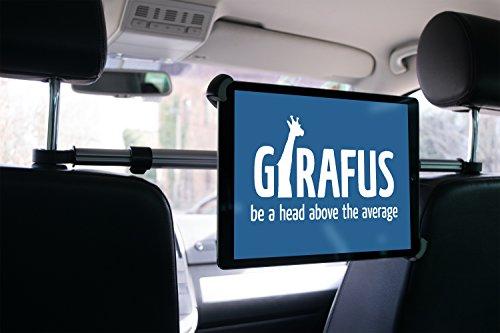 Girafus Relax H3 Universal SOPORTE ADJUSTABLE UNIVERSAL REPOSACABEZAS COCHE CABECERO PARA TABLET 9-10-11' Pulgadas Ipad, Samsung Galaxy, HTC, Asus Tablet PC