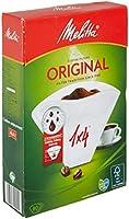 Melitta 200450 Kahve Filtre Kağıdı, 80 Adet, Beyaz