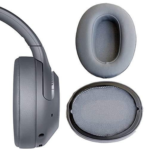 V-MOTA Earpads Compatible with Sony WH-XB900N Bluetooth Music WHXB900N Over-Ear Headphones,Replacement Cushions Repair Parts (Earmuffs Grey 1 Pair)