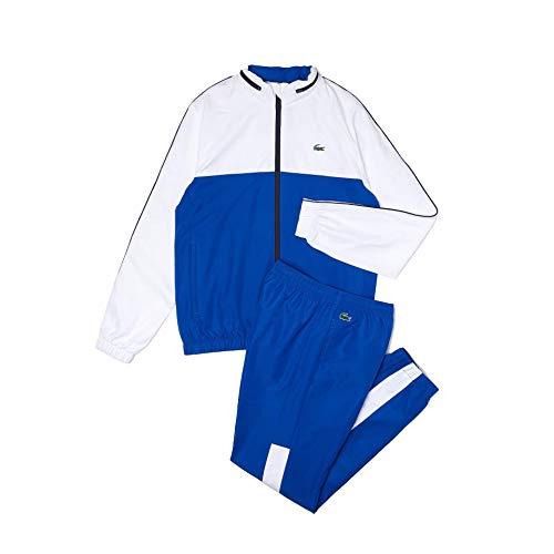 Lacoste Sport WH9563 conjunto de chándal, Lazuli/Blanc-Marine, M para Hombre