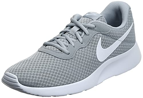 Nike Herren Tanjun Laufschuhe, Grau Wolf Grau Weiß, 45 EU