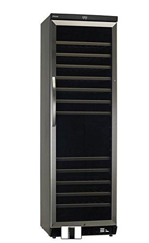 Dometic MaCave ST118G, 2 Zonen Wein-Kühlschrank für 118 Flaschen, Weintemperierschrank +5 °C bis +22 °C, abschließbar, Wein-Klimaschrank mit Glastür