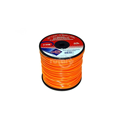 Trimmer Line .155 3# Spool Orange Diamond Line