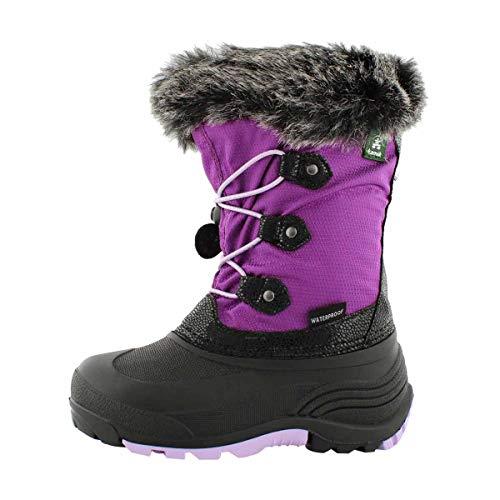 Kamik Kids' Powdery 2 Winter Boots Grape 4
