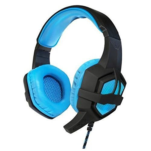 Art Flash Kopfhörer mit LED-Belecuhtung und integriertem Mikrofon PC Stereo Gaming-Headset