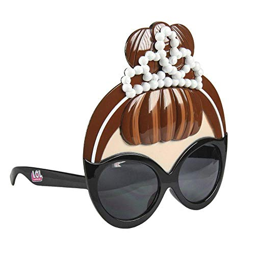 Artesania Cerda Mädchen Gafas De Sol Máscara LOL Sonnenbrille, Schwarz (Negro), 40