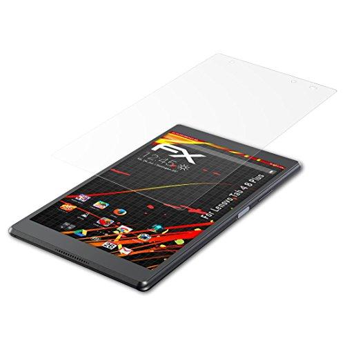 atFolix Schutzfolie kompatibel mit Lenovo Tab 4 8 Plus Bildschirmschutzfolie, HD-Entspiegelung FX Folie (2X)