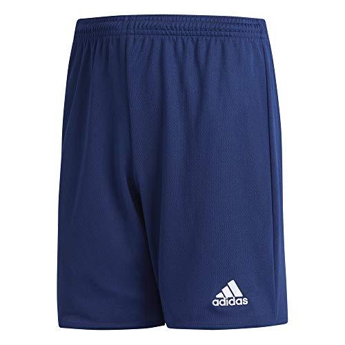 adidas Youth Parma 16 Shorts, Dark Blue/White, Large