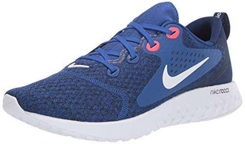 Nike Herren Legend React Laufschuhe, Mehrfarbig (Indigo Force/White-Blue Void-Red Orbit 405), 44.5 EU