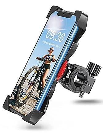 Bovon Soporte Movil Bicicleta, Anti Vibración Soporte Movil Moto y Bici Montaña con 360° Rotación