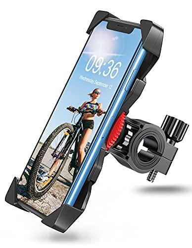 Goigrn Soporte Movil Bicicleta, Anti Vibración Soporte Movil Moto Montaña con 360°...