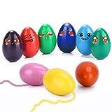 WOSTOO Crayones para Niños Pequeños, 9 Colores Crayones de Huevo para Niños,...