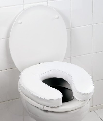 WC Sitzerhöhung WC Softsitz WC Sitzpolster Sitzring Toilettensitz