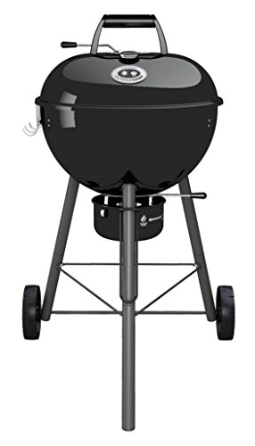 OUTDOORCHEF CHELSEA 480 C Barbecue Charcoal Kettle Black - Barbacoa (Barbecue, Charcoal, 45 cm, Kettle, Grid, Black)